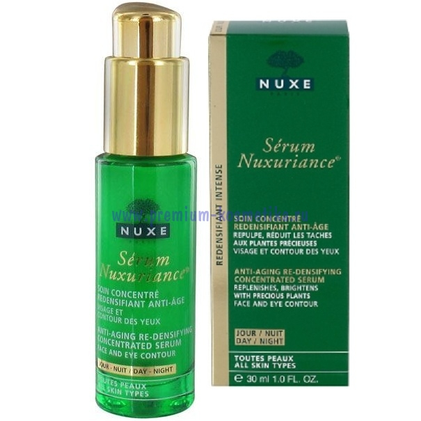 Нюкс нюксурьянс сыворотка для лица 30 мл nuxuriance nuxe (002458) - nuxe нюксурьЯнс интенсивный укреплЯющий уход (55-60 лет) - n.